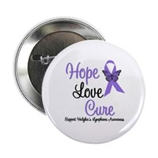 "Hodgkins HopeLoveCure 2.25"" Button"