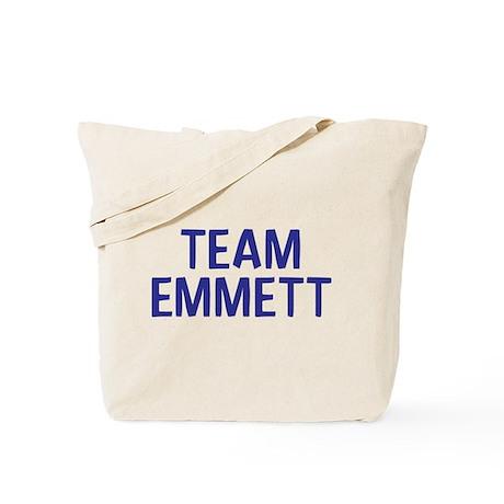 Team Emmett (Dark Blue) Tote Bag
