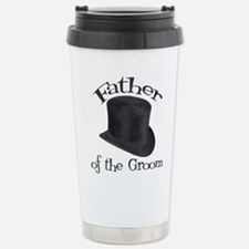 Top Hat Groom's Father Stainless Steel Travel Mug