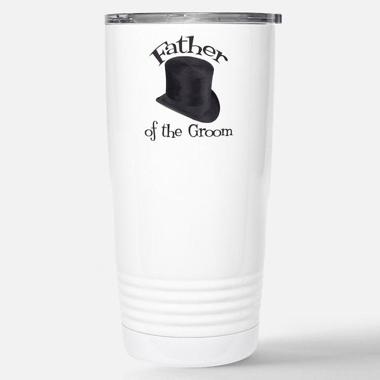 Top Hat Groom's Father Travel Mug
