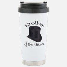 Top Hat Groom's Brother Stainless Steel Travel Mug