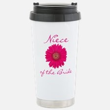 Niece of the Bride Stainless Steel Travel Mug