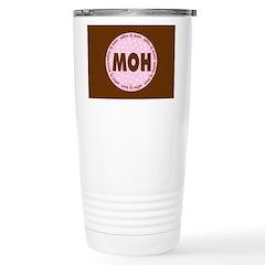 Polka Dot Matron of Honor Travel Mug