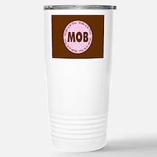 Polka Dot Bride's Mother Travel Mug