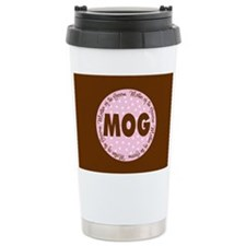 Polka Dot Groom's Mother Travel Mug
