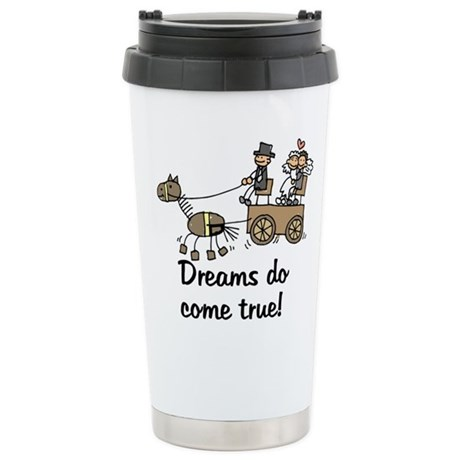 Wedding Carriage Stainless Steel Travel Mug