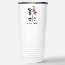 Cartoon Bride's Father Travel Mug
