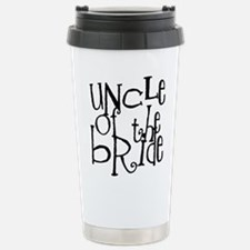 Uncle of the Bride Graffiti Stainless Steel Travel