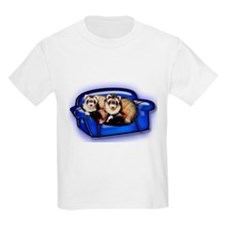 Ferrets On Couch T-Shirt