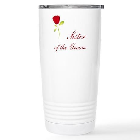 Red Groom's Sister Stainless Steel Travel Mug