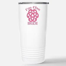 Celtic Knot Bride Travel Mug