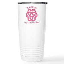 Celtic Bride's Aunt Travel Mug