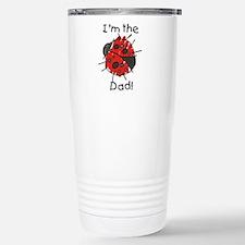 Ladybug I'm the Dad Stainless Steel Travel Mug