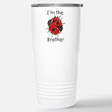 I'm the Brother Ladybug Stainless Steel Travel Mug