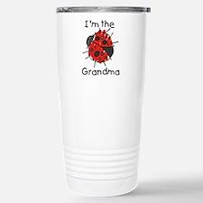 I'm the Grandma Ladybug Stainless Steel Travel Mug
