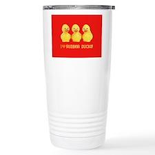 I Love Rubber Ducks Travel Mug
