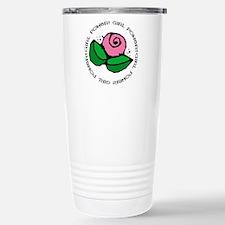 Girl Power Flower Travel Mug