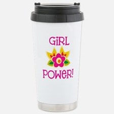 Flower Girl Power Travel Mug