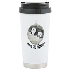 Disco Ball Travel Mug