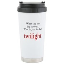 Twilight Live Forever Travel Mug