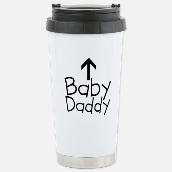 Baby Daddy Arrow Stainless Steel Travel Mug