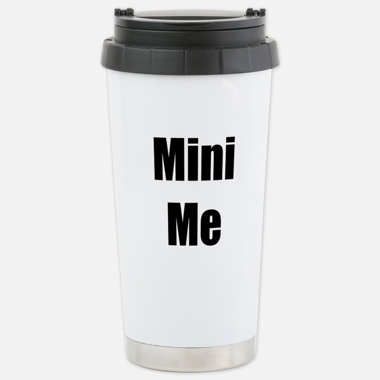 Cool Me/Mini Me Matching Stainless Steel Travel Mu