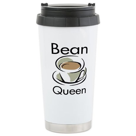 Bean Queen Stainless Steel Travel Mug