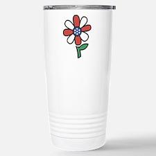 American Flower Power Stainless Steel Travel Mug