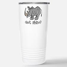 Got Rhino? Travel Mug