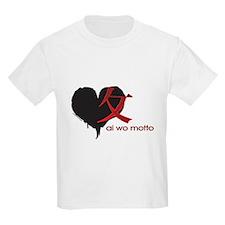 Kanji Jrock Dark Love Kids T-Shirt