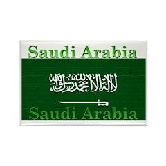 Saudi Arabia Arabian Flag Rectangle Magnet (10 pac