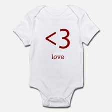 love <3 Infant Bodysuit