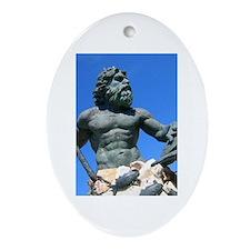 Virginia Beach Oval Ornament