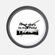 Cute Philly Wall Clock
