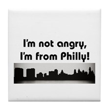 Cute Philadelphia Tile Coaster