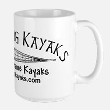 Skin On Frame Kayaks Large Mug