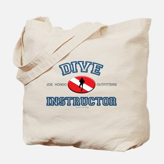 Blue Dive Instructor Tote Bag