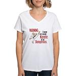 Big Eyes 2 Women's V-Neck T-Shirt