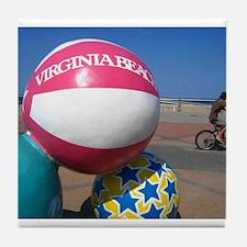 Virginia Beach Tile Coaster
