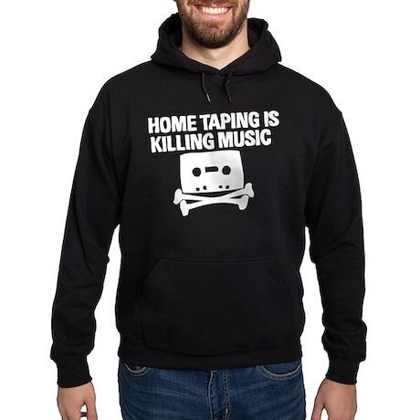 Home Taping is Killing Music Hoodie (dark)