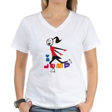i spin, i jump Ice Skating Shirt