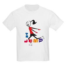 i spin, i jump Ice Skating T-Shirt