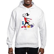 i spin, i jump Ice Skating Hoodie