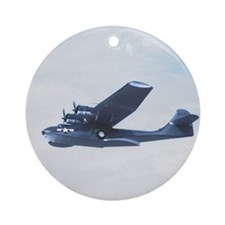 PBY Catalina Ornament (Round)