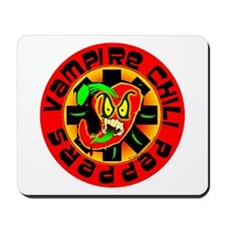 Vampire Chili Peppers Red Mousepad