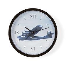 PBY Catalina Wall Clock