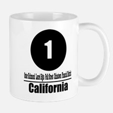 1 California (Classic) Mug