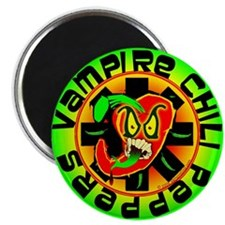 Vampire Chili Peppers Green Magnet