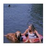 CanineCancerAwareness Tile Coaster