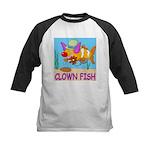 Clown Fish Kids Baseball Jersey
